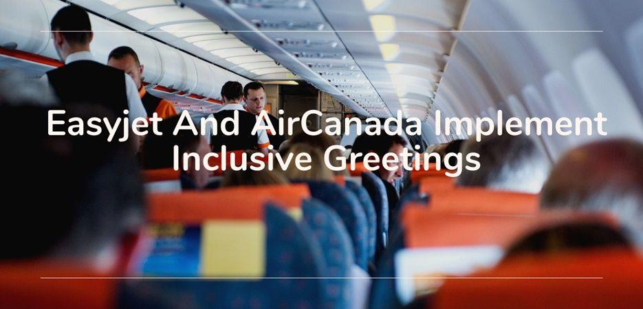airlines inclusive greetings