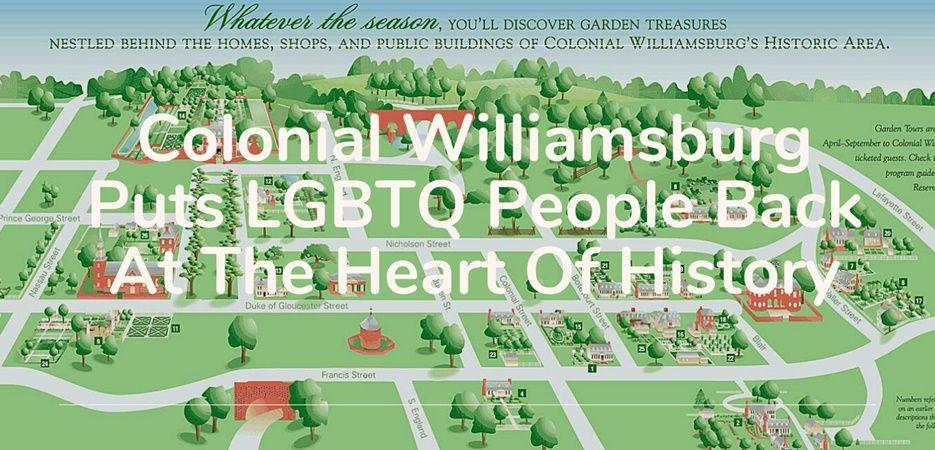 colonial williamsburg lgbtq history