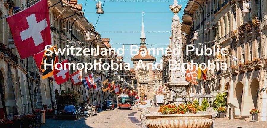 switzerland homophobia biphobia