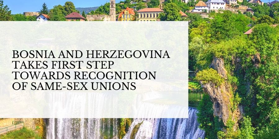 bosnia and herzegovina first step recognition same sex unions shutterstock 568706347