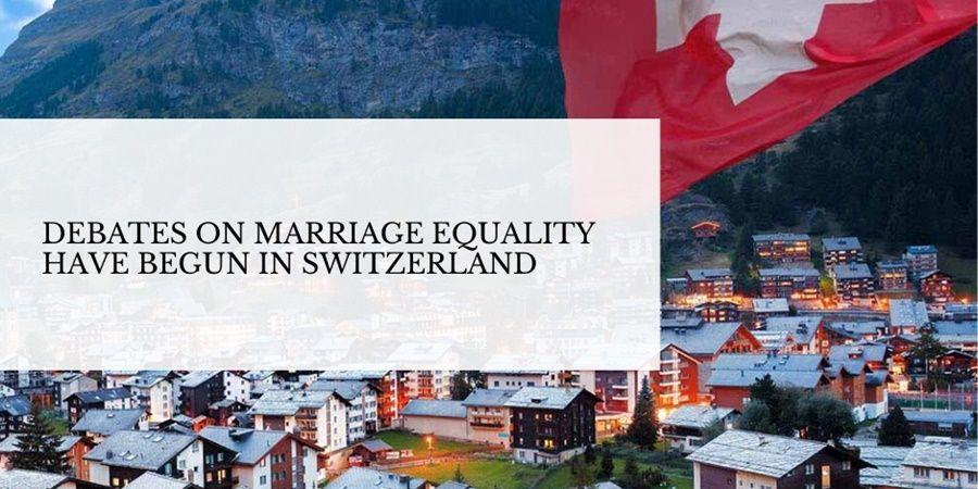 debates on marriage equality in switzerland