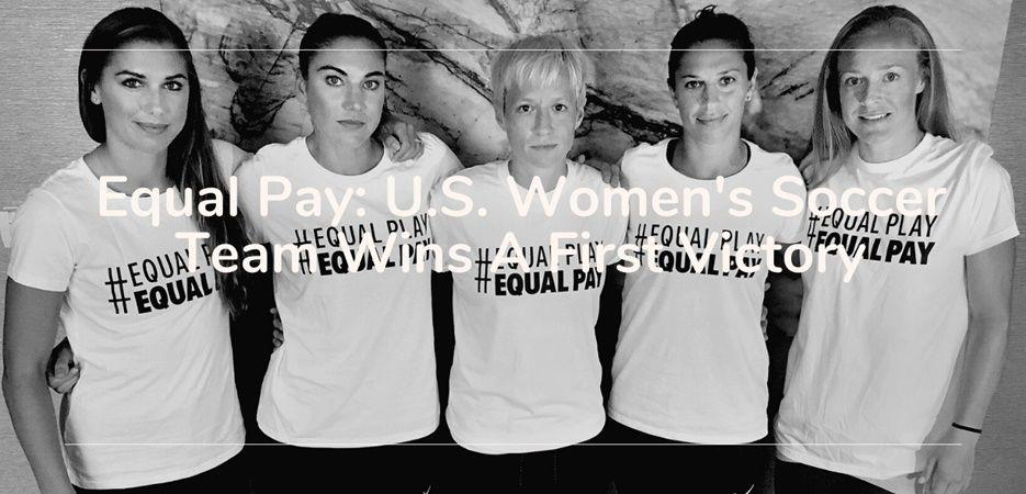 equal pay us soccer women team