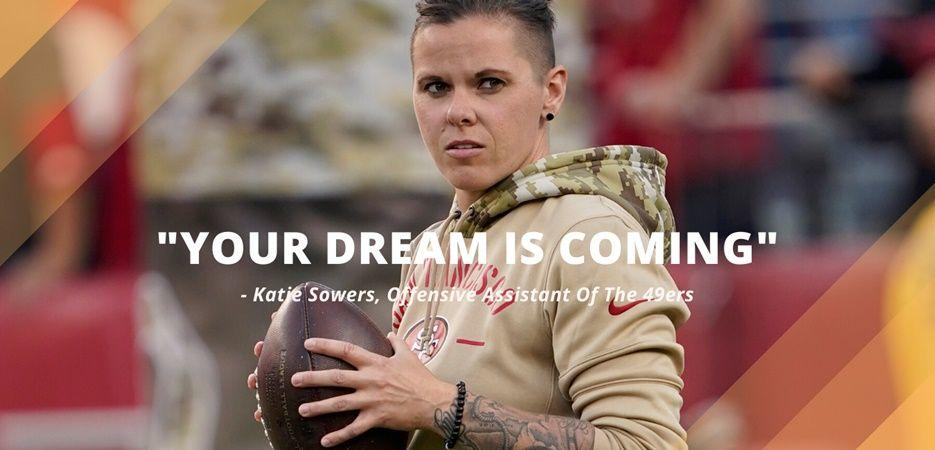 nfl offensive coach katie sowers
