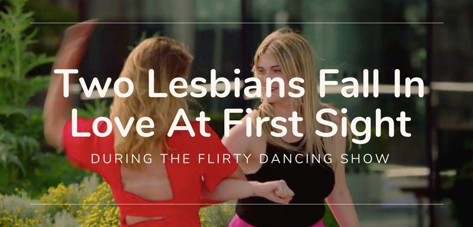 Two Lesbians Fall In Love During The Flirty Dancing Show