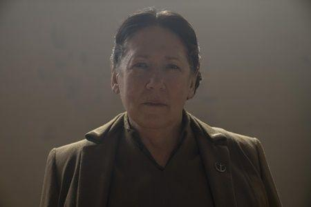 "Aunt Lydia in ""The Handmaid's Tale"" season 4."